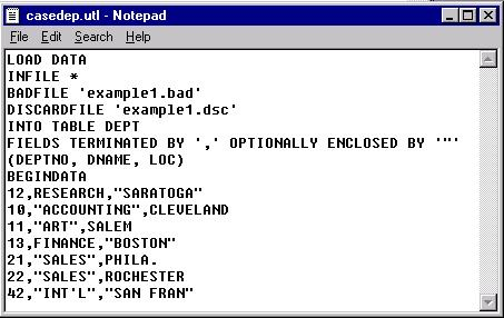 Using oracle sql developer to setup sql*loader runs – thatjeffsmith.