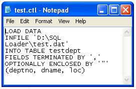 Date in number format oracle sqlldr loader control file example